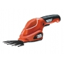 BLACK&DECKER  Akumulatorowe nożyce do trawy 3.6 V (1 akumulator) GSL200