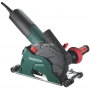 METABO Szlifierka do betonu 1250W 125 mm model W 12-125 HD Set CED 125 PLUS (walizka + tarcza diamentowa)